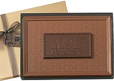 Two Tone Chocolate Gift Bar