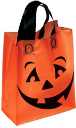 Orange Frosted Pumpkin Shopper