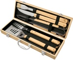 Bamboo BBQ Set