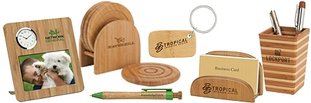 Eco-Friendly Bamboo Promotional Products