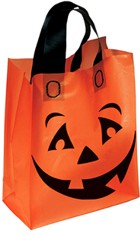 Frosted Pumpkin Shopper Halloween Bags