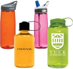 Nalgene and Camelbak Water Bottles