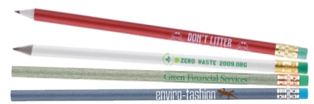 Eco-Friendly Recycled Pencils
